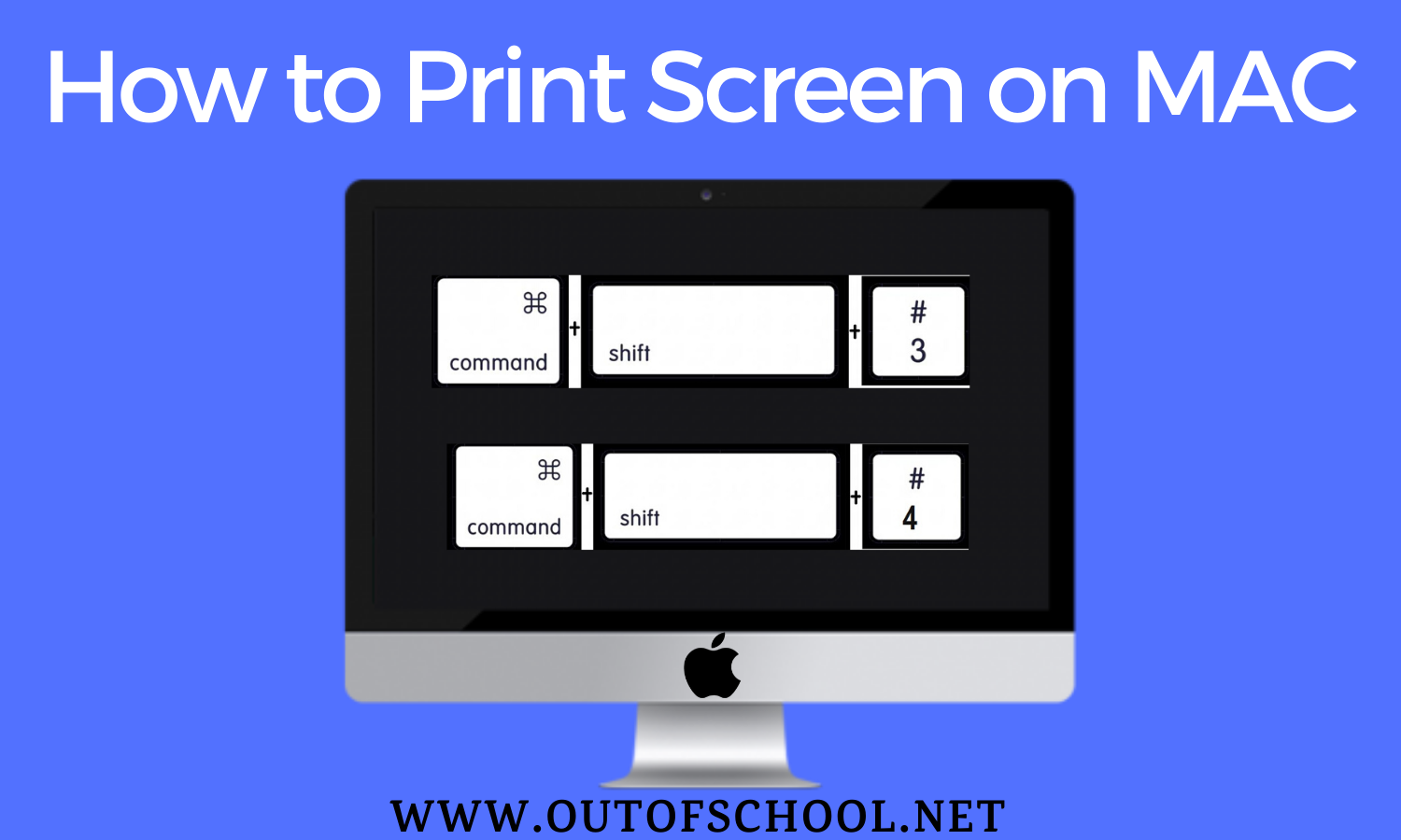 PRINT SCREEN ON MAC