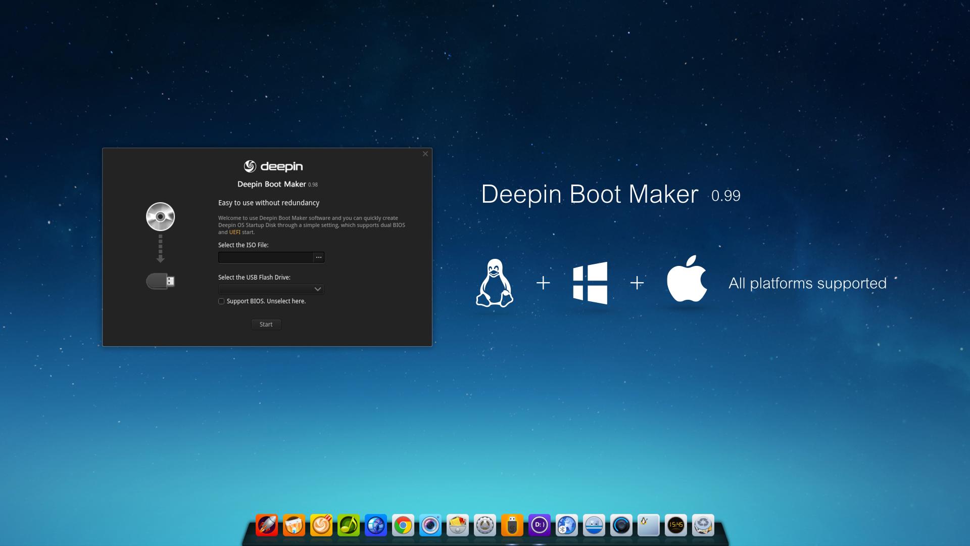 Deepin Boot Maker