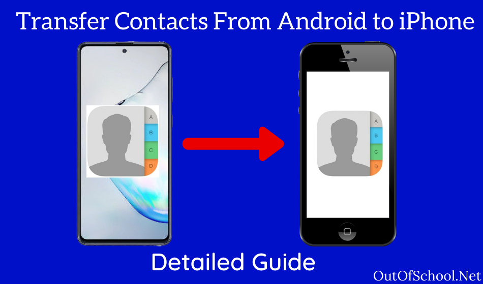 Transfer Contacts From Android to iPhone