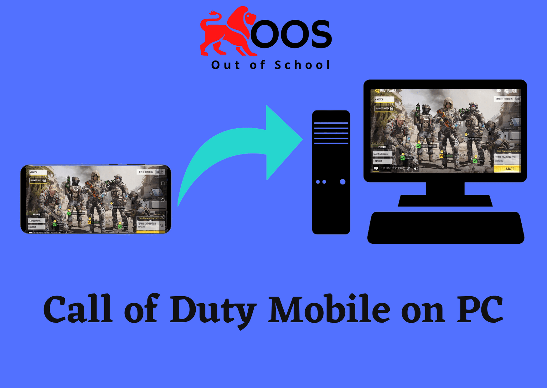 Call of duty mobile on PC