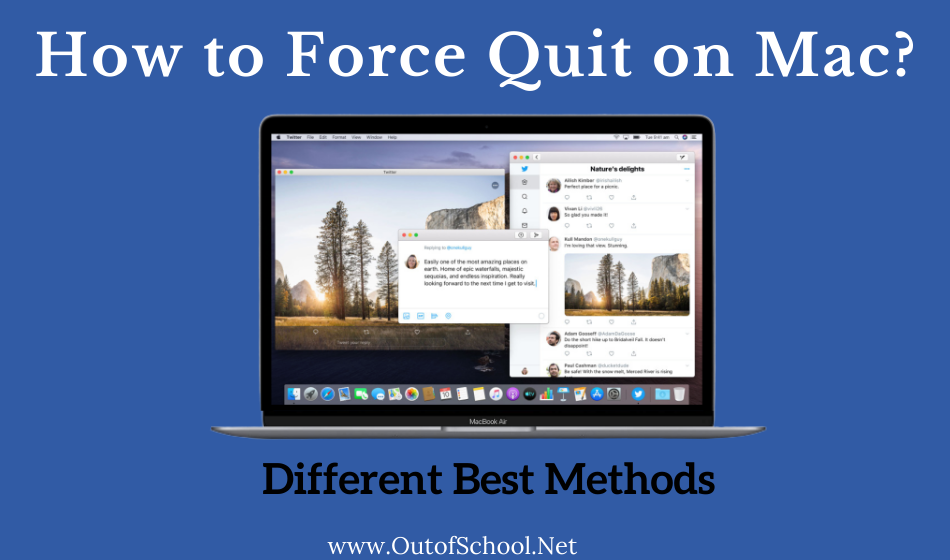 How to force quit on mac ?