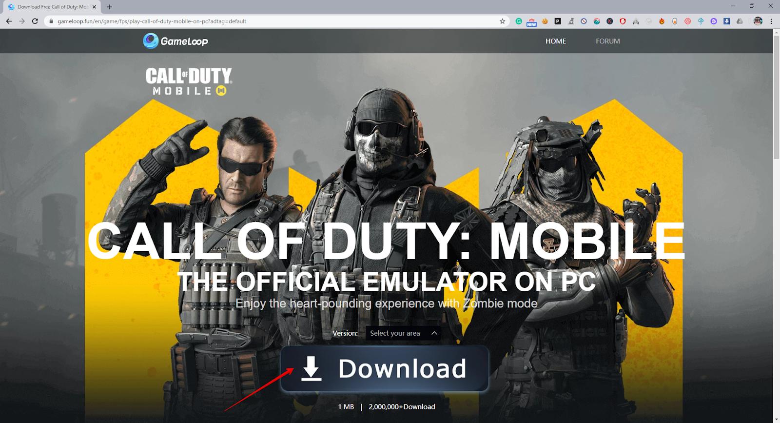 Call Of Duty Mobile Emulator