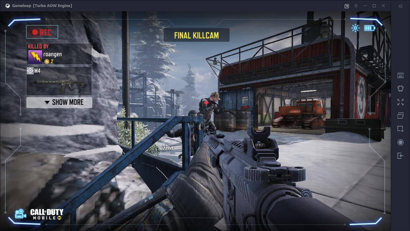 Kill cams in Call of Duty