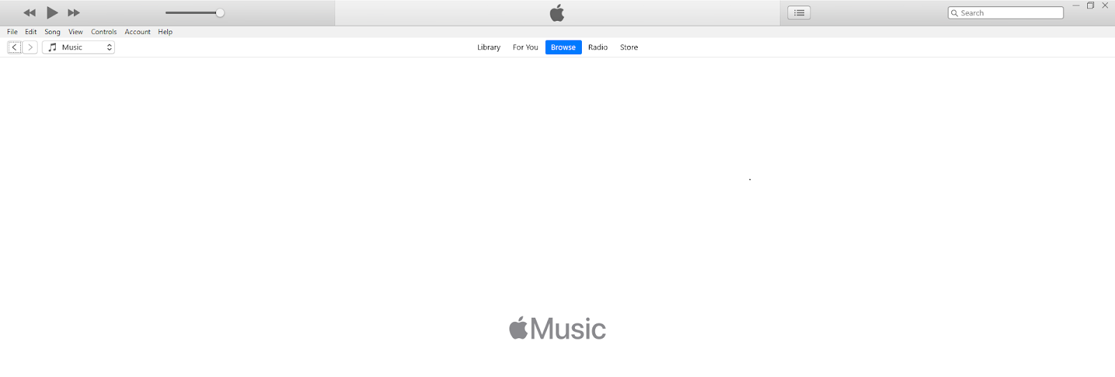 open itunes in newtab