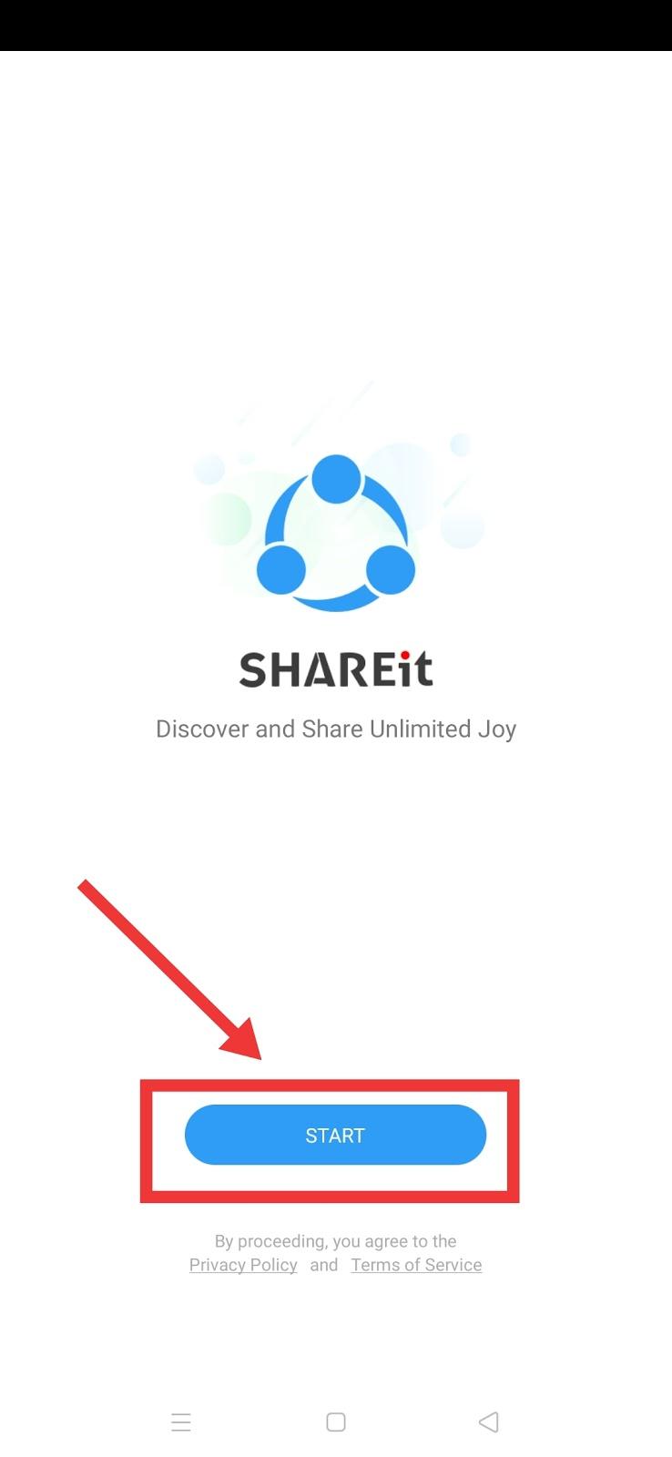 start Shareit